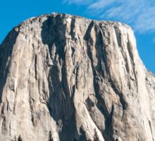 El Capitan mountain Yosemite national Park, California USA Sticker