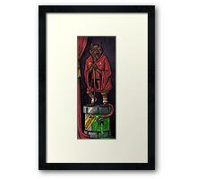 The Haunted Sewer: Mutagen Keg Framed Print