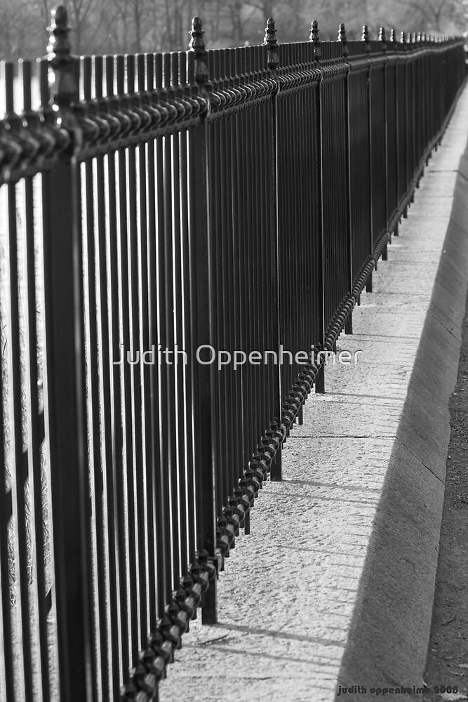 Central Park Gate by Judith Oppenheimer