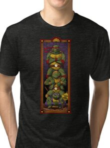 The Haunted Sewer: Quick Sludge Tri-blend T-Shirt