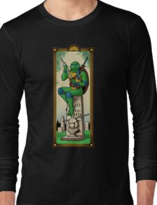The Haunted Sewer: Here Lies Shred Long Sleeve T-Shirt