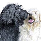 Labradoodles in Love by Yvonne Carter