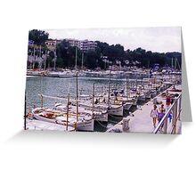 Porto Christo Harbour Greeting Card