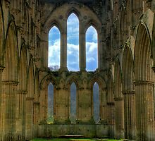 Rievaulx Abbey by Philip Baines