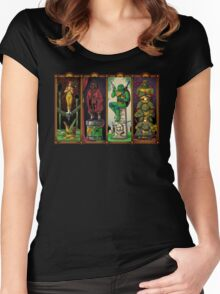 The Haunted Sewer Women's Fitted Scoop T-Shirt