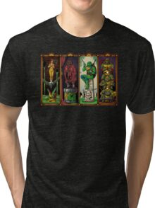 The Haunted Sewer Tri-blend T-Shirt