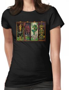The Haunted Sewer Womens Fitted T-Shirt