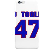 National baseball player Denny O'Toole jersey 47 iPhone Case/Skin
