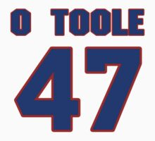 National baseball player Denny O'Toole jersey 47 by imsport