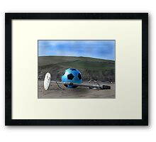 Treasure hunt Framed Print