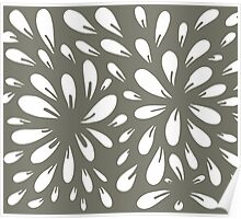 blossom (gray) Poster