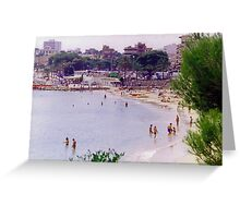 Porto Christo Beach Greeting Card