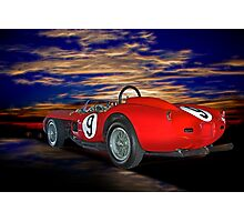 1958 Ferrari 250GT Testa Rossa IV Photographic Print