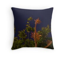 Earthly Landscape Throw Pillow