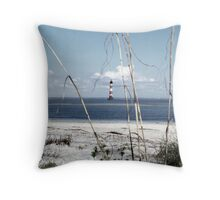 Morris Island No. 2 Throw Pillow