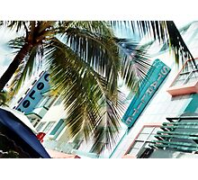 South Beach Deco Photographic Print