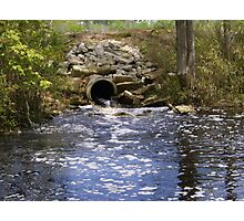 Babbling Creek Bed Photographic Print