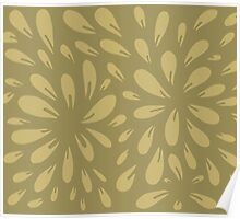 blossom (gold) Poster