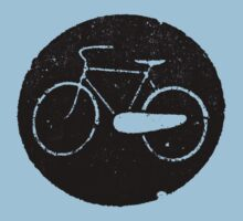hipster bike symbol by grafiskanstalt