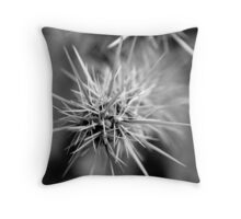 Cactus Close-up No. 1 Throw Pillow
