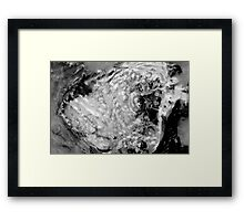 Boiling thermal water Framed Print