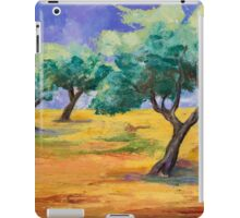 Olive Trees Grove iPad Case/Skin