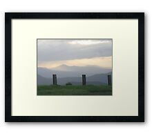 lookout Framed Print
