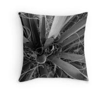 Mojave Yucca Throw Pillow