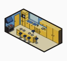 KITCHEN PIXEL ART by SofiaYoushi