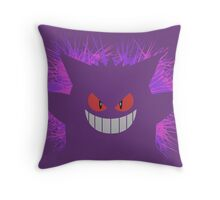 Gengar: Shadow Throw Pillow