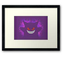 Gengar: Shadow Framed Print
