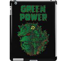 GREEN POWER iPad Case/Skin