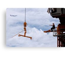 Patrick Dragos. Union Ironworker. 2 Canvas Print