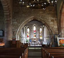 St Mary the Virgin - Main Altar by pat oubridge