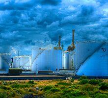 Industrial Apocalypse II - Botany Bay, Sydney, Australia by Mark Richards