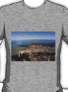 Mount Tallac trailhead overlooking lake Tahoe, California, USA T-Shirt