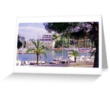 Porto Christo Harbour II Greeting Card