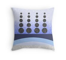Blue Knights Guard 2014 Throw Pillow