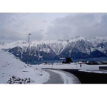 Austrian Mountains Photographic Print