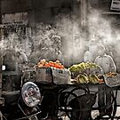 In a Jodhpur Market by Heather Prince