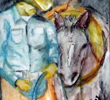 The Cowboy & his best friend by mark rehburg