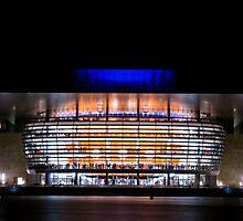 Copenhagen operahouse by Flemming Jacobsen