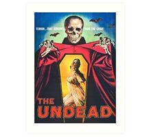 The Undead 1957 Original Poster Artwork Art Print
