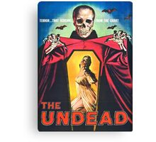 The Undead 1957 Original Poster Artwork Canvas Print