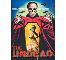 The Undead 1957 Original Poster Artwork Photographic Print