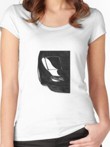 Mazda Miata NA sketch Women's Fitted Scoop T-Shirt