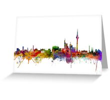 Berlin Germany Skyline Greeting Card
