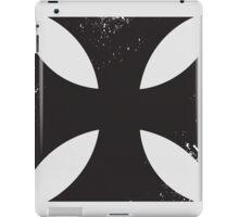 Iron cross in black. iPad Case/Skin