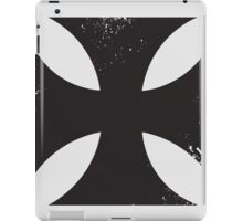 Iron cross in black. iPad Case/Skin