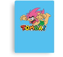 TOMBA! Canvas Print